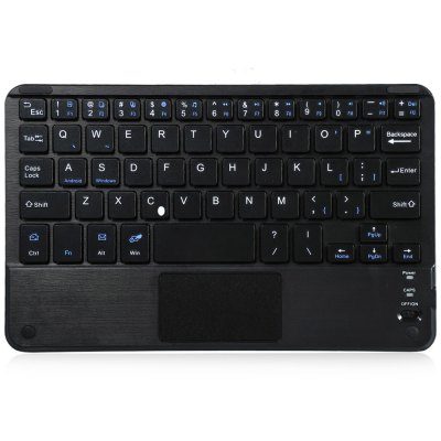Multifunctional Ultra Slim Wireless Bluetooth 3.0 Keyboard with Touch Pad