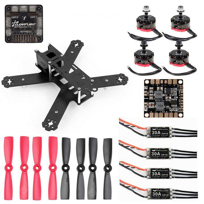 GB210 210mm Wheelbase DIY Frame Kit Racing Drone