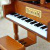 Music Box Piano Shape - WOOD