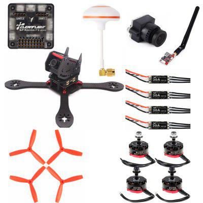 DUBAI 225mm DIY Carbon Fiber Frame Kit Racing Drone
