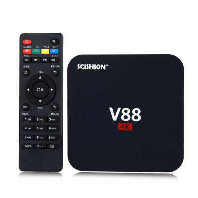 SCISHION V88 TV Box Rockchip 3229 de Quad Core