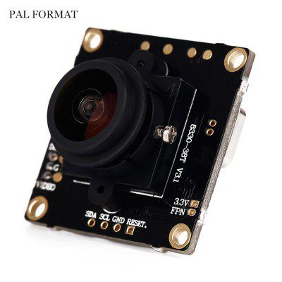 168 Degree Wide Angle 800TVL Camera PAL Format