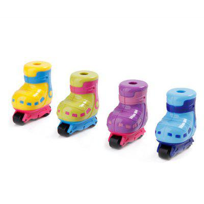 Deli 2PCS Cartoon Skate Style Manual Pencil Sharpener