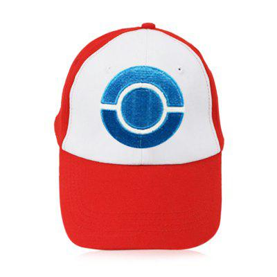 Cute Cartoon Embroidered Cap Adjustable Cotton Baseball Hat