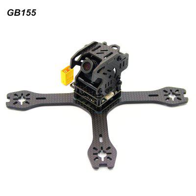 GB155 155mm 3mm Arm Carbon Fiber Frame Kit
