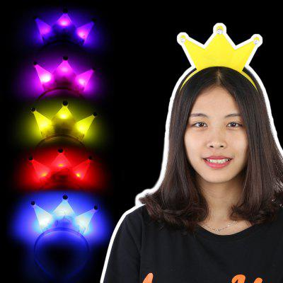 5 x BRELONG Bandeau de Cheveux LED