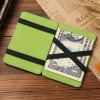 Men Trendy Magic Wallet High Quality PU US Dollar Purse - GREEN