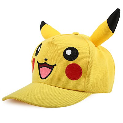 Unisex Cotton Adjustable Cartoon Embroidered Baseball Hat