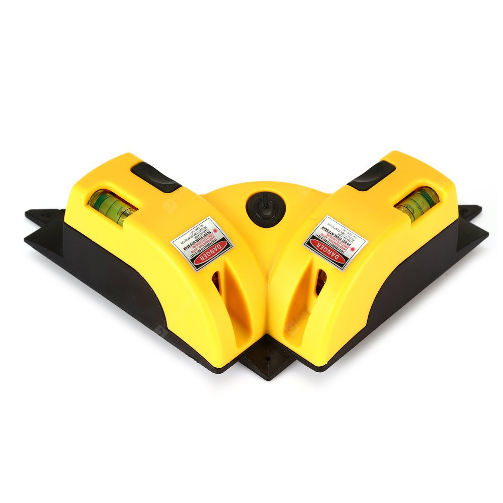 50MW 635nm Laser Orthogonal Spirit Level Measuring Tool