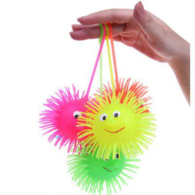 1pc LED Smile Face Hedgehog Ball