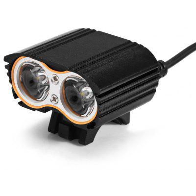 XX2 2000LM 2 x Cree T6 USB LED Bike Light