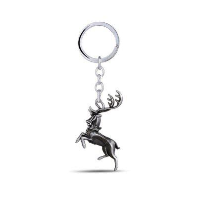 Keyring Buck Model Pendant Decor