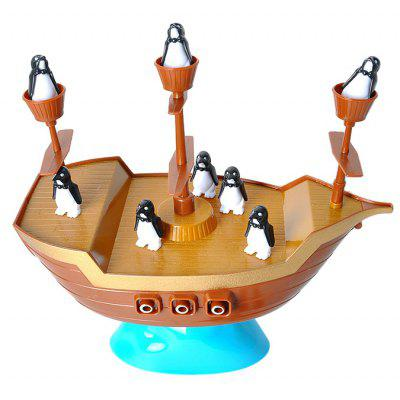 Penguin Boat Balancing Game