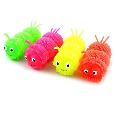 1pc LED Caterpillar Ball Vent Toy
