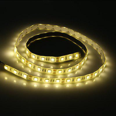 1M USB LED Light Strip with SwitchLED Strips<br>1M USB LED Light Strip with Switch<br><br>Connector Type: USB<br>Features: Cuttable, IP-65, Low Power Consumption, Waterproof<br>Input Voltage: DC 5V<br>LED Type: SMD-5050<br>Length: 1M<br>Material: PVC<br>Number of LEDs: 60<br>Optional Light Color: RGB,Warm White<br>Package Contents: 1 x LED Strip Light<br>Package size (L x W x H): 23.50 x 16.00 x 1.50 cm / 9.25 x 6.3 x 0.59 inches<br>Package weight: 0.0940 kg<br>Product size (L x W x H): 200.00 x 1.00 x 0.20 cm / 78.74 x 0.39 x 0.08 inches<br>Product weight: 0.0700 kg<br>Rated Power (W): 6W<br>Type: LED Strip