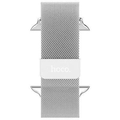 HOCO Milanese Loop Watchband for Apple Watch 38mm coteetci w6 luxury stainless steel magnetic watchband for apple watch series 1 series 2 38mm gold