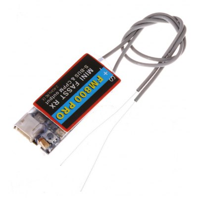 FM800 PRO 2.4G 8CH Mini Receiver for RC Drone