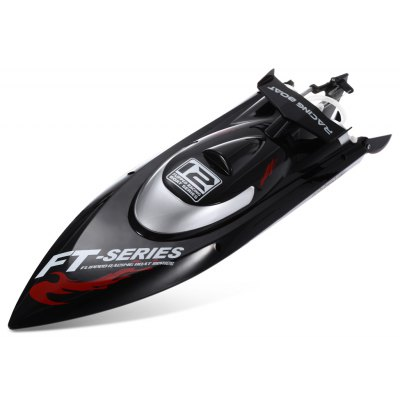 FeiLun FT012 RC High Speed Racing Boat -  EU PLUG  BLACK