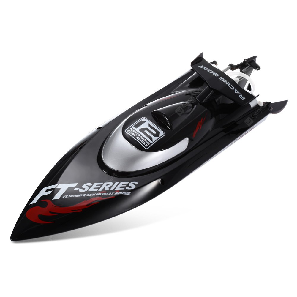 FeiLun FT012 RC High Speed Racing Boat - Black EU Plug