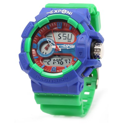 EXPONI 3227 Outdoor Sports Digital Quartz Watch
