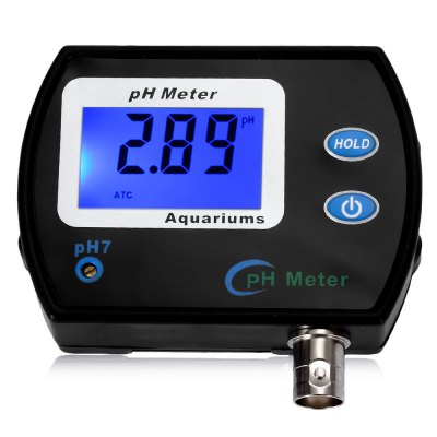 Digital pH Meter LCD Display Tester for Aquarium Water Quality