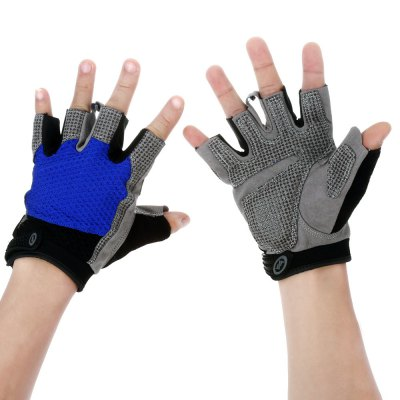 Unisex Half-finger Cycling Gloves Anti-slip Thickened for Fitness