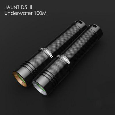 JAUNT D5 II LED Dive Light