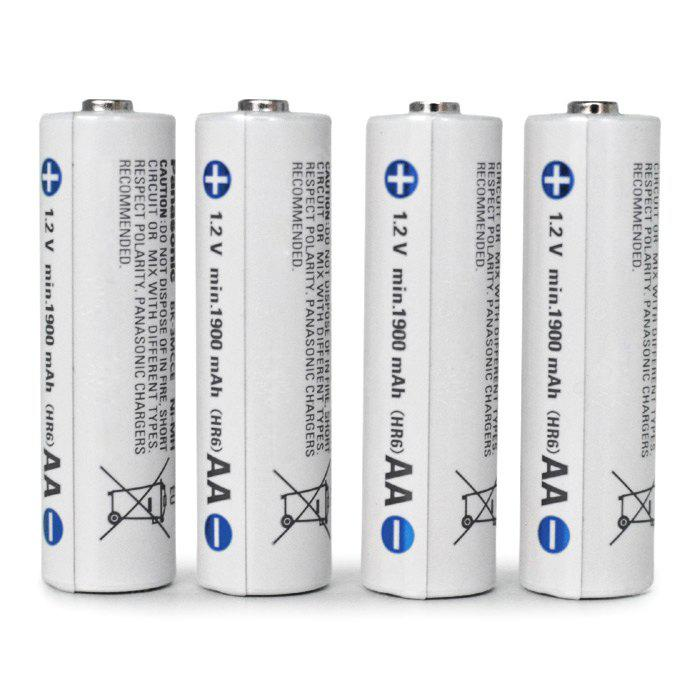 4pcs BK - 3MCCE / 4BE Batterie au Ni-MH