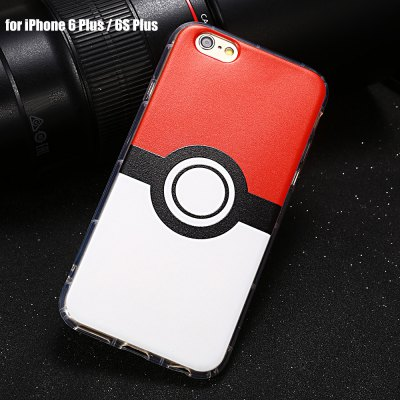Cartoon Pattern TPU Protective Case for iPhone 6 Plus / 6S Plus
