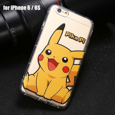 Cartoon Pattern TPU Protective Phone Case for iPhone 6 / 6S