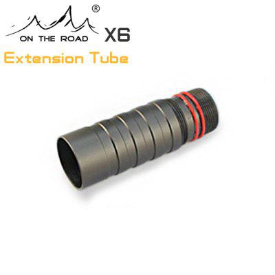 Flashlight Extension Body Tube for ON THE ROAD X6