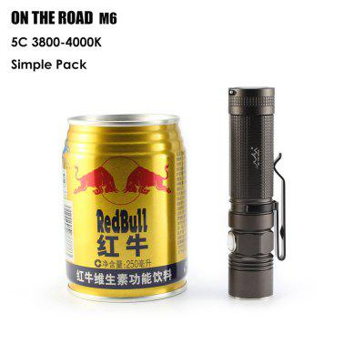 ON THE ROAD M6 Cree Flashlight
