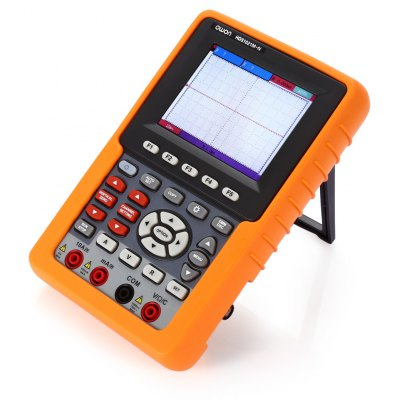 Buy YELLOW AND BLACK OWON HDS1021M N 3.7 inch LCD Handheld Oscilloscope for $391.08 in GearBest store