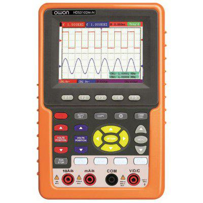OWON HDS3102M - N 3.7 inch LCD Handheld Oscilloscope