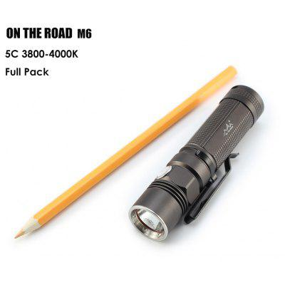 ON THE ROAD M6 LED Micro Flashlight
