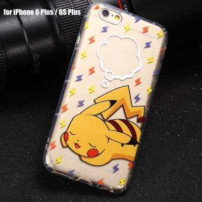 Cartoon Pattern Protective Case for iPhone 6 Plus / 6S Plus