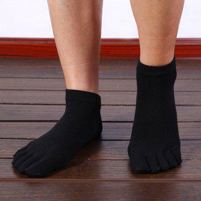 Paired Men Cotton Casual Socks