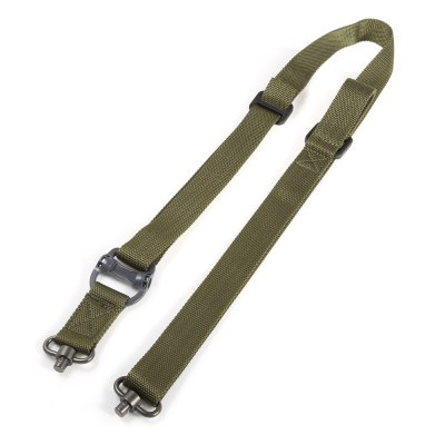 Outdoor Survival Adjustable Nylon Tactical Sling Strap QD Design