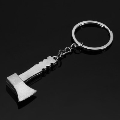 Creative Axe Key Chain Ring Keyring