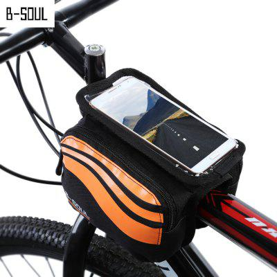 B - SOUL YA0205 Bicycle Front Tube Bag