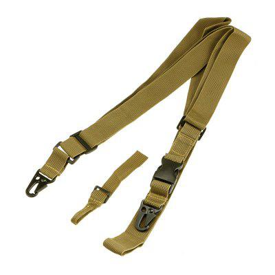 Outdoor Elastic Three-point Sling Strap with Metal Buckles