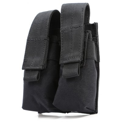 Outdoor Water-resistant Nylon Double Rows Tactical Tool Pouch