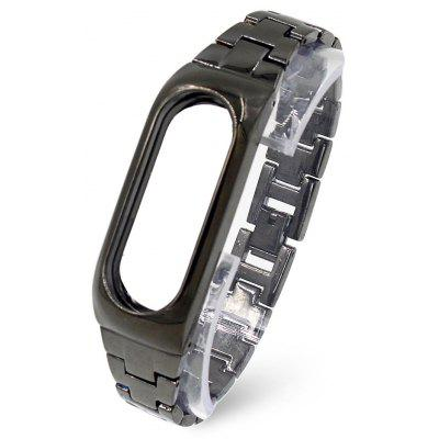 Stainless Steel Smart Wrist Watch Strap for Xiaomi Miband 2