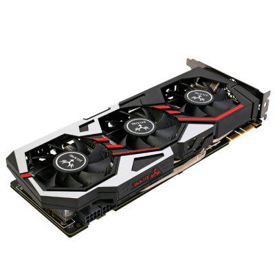 Original Colorful iGame1080 U - 8GD5X Top Graphics CardGraphics &amp; Video Cards<br>Original Colorful iGame1080 U - 8GD5X Top Graphics Card<br><br>Brand: Colorful<br>Built-in Cooler Fan: Yes<br>Display Core: GeForce GTX 1080<br>Interface Type: DP 1.4, DVI, HDMI<br>Manufacturing Process: 16nm<br>Material: Aluminum<br>Model: iGame1080 U - 8GD5X<br>Package size: 33.20 x 20.00 x 6.00 cm / 13.07 x 7.87 x 2.36 inches<br>Package weight: 1.6200 kg<br>Packing List: 1 x Original Colorful iGame1080 U - 8GD5X Top Graphics Card, 1 x CD, 2 x 8 Pin Cable, 1 x English Manual<br>Power Interface: 8 + 8Pin<br>Product size: 30.20 x 14.80 x 4.50 cm / 11.89 x 5.83 x 1.77 inches<br>Product weight: 1.1000 kg<br>Supports System: Win8 64, Win 2000, Win 2008, Win vista, Win XP, Win7 32, Win7 64, Win8 32<br>Video Memory Bit Wide: 256bit<br>Video Memory Capacity: 8GB<br>Video Memory Frequency: 10010MHz<br>Video Memory Type: GDDR5X