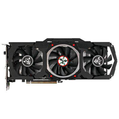 Original Colorful iGame1060 X - 6GD5 Top Graphics CardGraphics &amp; Video Cards<br>Original Colorful iGame1060 X - 6GD5 Top Graphics Card<br><br>Brand: Colorful<br>Built-in Cooler Fan: Yes<br>Display Core: GeForce GTX 1060<br>Interface Type: DP 1.4, DVI, HDMI<br>Manufacturing Process: 16nm<br>Material: Aluminum<br>Model: iGame1060 X - 6GD5<br>Package size: 31.00 x 16.00 x 6.00 cm / 12.2 x 6.3 x 2.36 inches<br>Package weight: 1.3200 kg<br>Packing List: 1 x Original Colorful iGame1060 X - 6GD5 Top Graphics Card, 1 x CD, 2 x 6 Pin Cable, 1 x iGame Tool Kit, 1 x English Manual<br>Power Interface: 6 + 6Pin<br>Product size: 28.00 x 12.00 x 4.20 cm / 11.02 x 4.72 x 1.65 inches<br>Product weight: 0.9000 kg<br>Supports System: Win8 64, Win 2000, Win 2008, Win vista, Win XP, Win7 32, Win7 64, Win8 32<br>Video Memory Bit Wide: 192bit<br>Video Memory Capacity: 6GB<br>Video Memory Frequency: 8008MHz<br>Video Memory Type: GDDR5