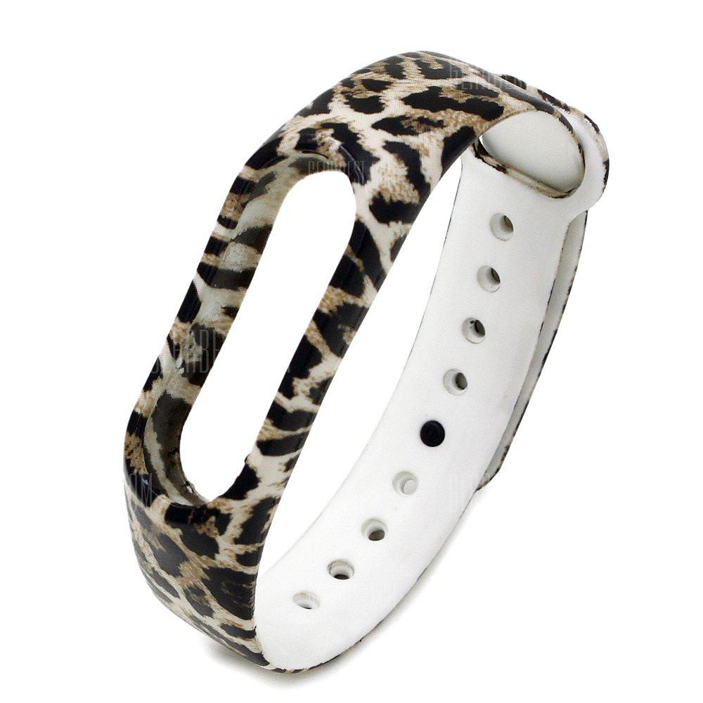 Silicone Watch Strap Xiaomi Miband 2 LEOPARD