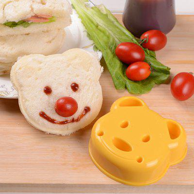 SA - 001 Bear Shaped Resin Sandwich Mold