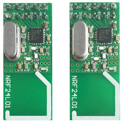 Arduino Compatible DIY NRF24L01+ 2.4GHz Wireless Communication Module  -  2PCS