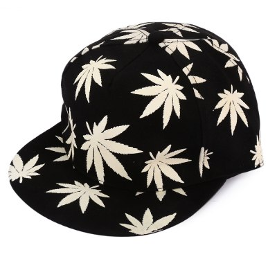 Trendy Night Luminous Baseball Hat Canvas Hip-hop Dance Cap