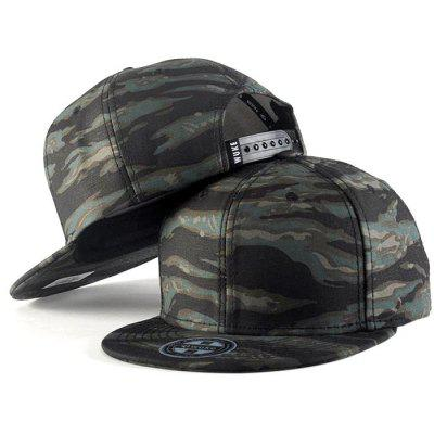WuKe Stylish Men Cotton Baseball Cap